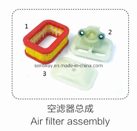 5800 Air Filter Assembly for Petrol Chainsaw Replacement Parts