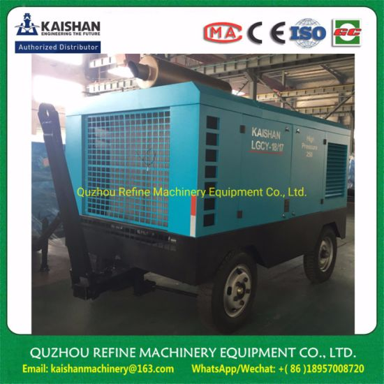 Kaishan LGCY-18/17 High Pressure Diesel Screw Air Compressor