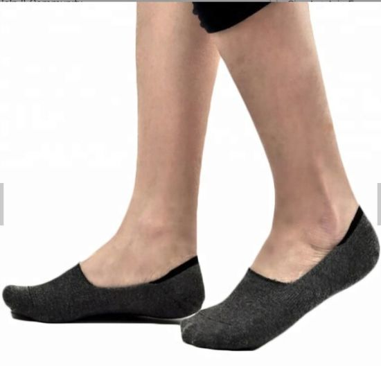 Unisex Cotton Ankle Socks Solid Color Striped Soft Casual Slippers Shorts Socks