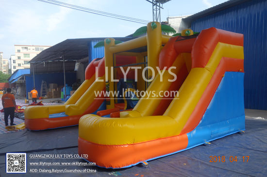 China Inflatable Bouncer Slide Inflatable Jumping Boucner Castle