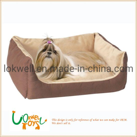 Plush Dog Cat Bed Pet Cushion OEM Manufacturer