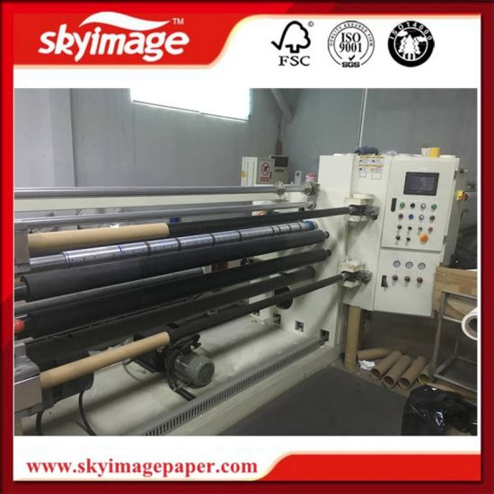 Automatic Two Ply Thermal Paper Slitting Machine with Double Shaft Rewinding