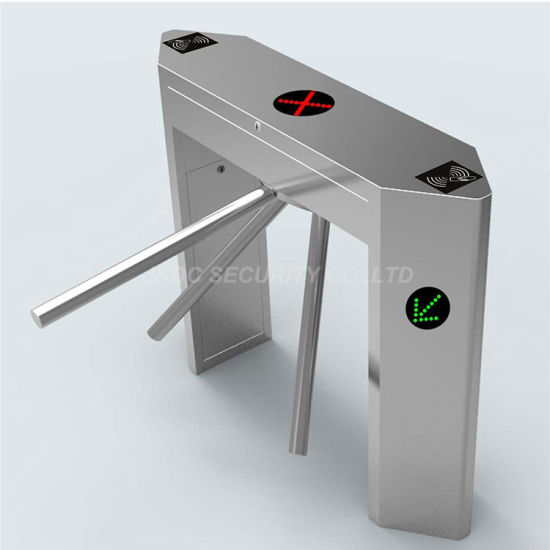RFID Reader Automatic Tripod Turnstile for Subway Access Control System Jkdc-120c pictures & photos
