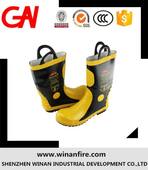 High Quality Fire Fighting Shoes for Fire Fighter