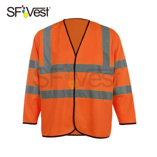 Long Sleeve Reflective Safety Jacket Class 3