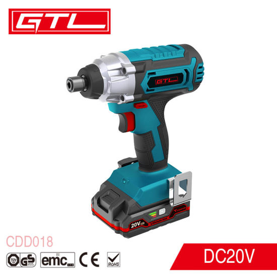 18V Household Lithium-Ion Screwdriver Cordless Impact Driver with Working Light