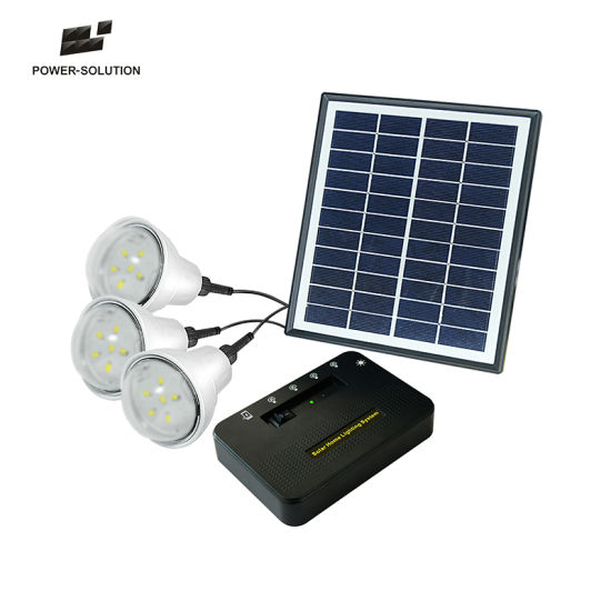 Solar Lighting Kits With Mobile Charger