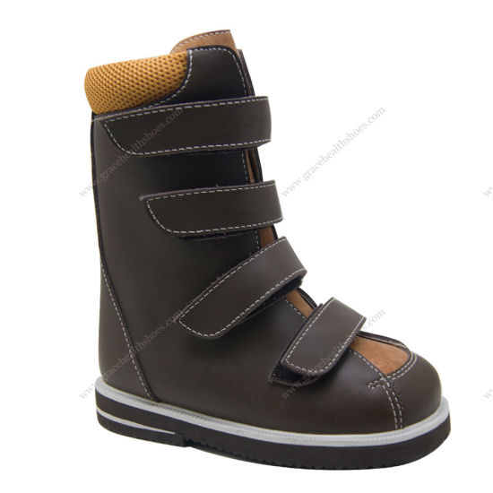 China Grace Ortho Afo Build In Boot Drop Foot High Boot Cerebral Palsy Orthopedic Boot 4910300 China Afo Build In Boots Therapeutic Boots
