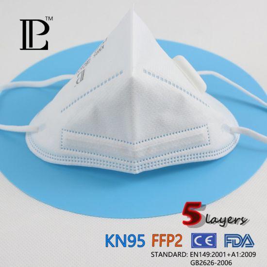 Disposable Nonwoven Respirator Kn95 Face Mask