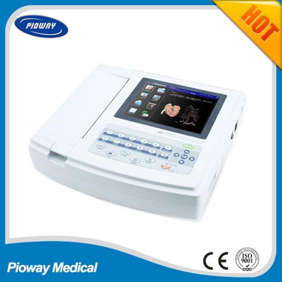 Electrocardiograph Portable ECG Machine / 12 Leads ECG Machine for Telemedicine (ECG1200G)