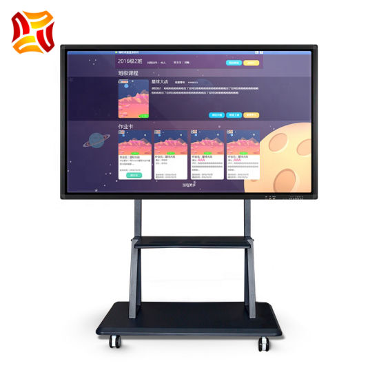 Touch Screen Whiteboard Smart Board Electronic Multimedia Interactive Digital White Board for Conference and Teaching