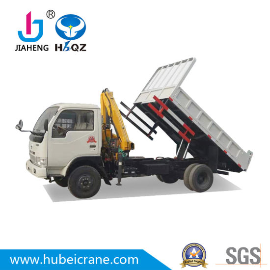 High performance SQ80ZB2 mini cranes China Factory 3.2 ton knuckle boom crane for building