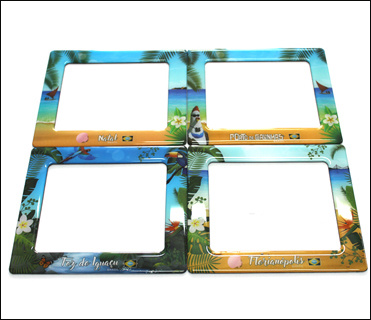 China Magnetic Product Manufacturer Wholesales Die Cut Flexible Magnetic Fridge Picture Photo Frame pictures & photos