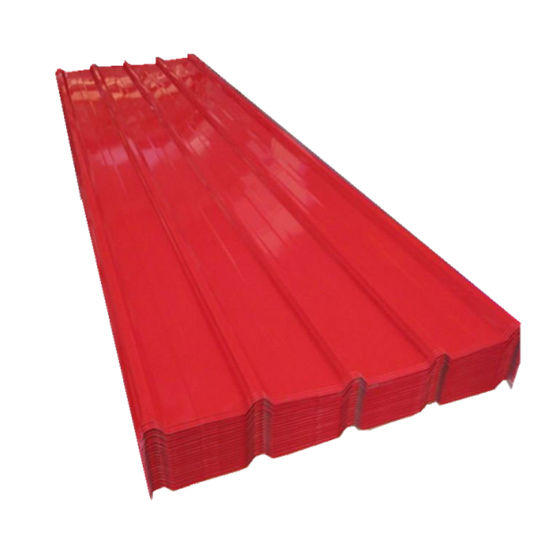0.47mm Color Prepainted Metal Corrugated Roofing Sheet for African