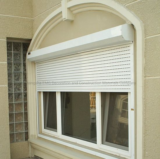 Strong Security Aluminum Roller Shutters Hurricane Protection Shutters