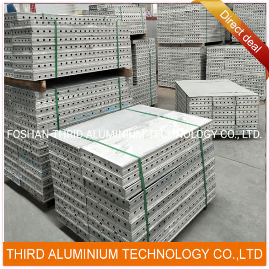 Aluminum Formwork Extrusion Profiles for Concrete Construction Building