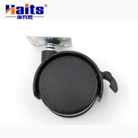 High Quality 40mm with Break Furniture Chair Castor Wheel