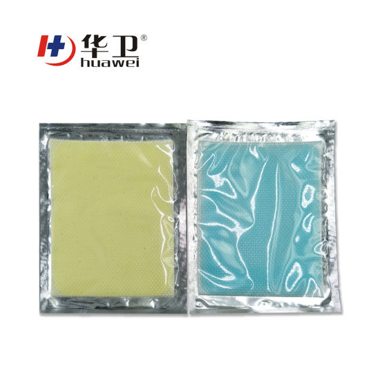Cbd and Hemp Oil Hydrogel Cold Hot Pain Relief Patch