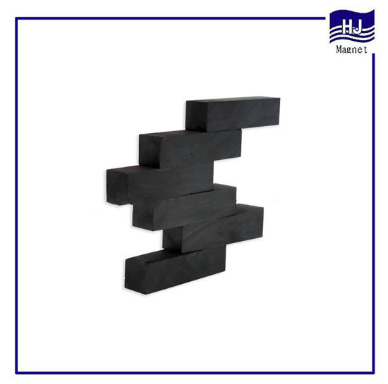 Long Block Square Strong Permanent Sintered Ferrite Magnet with High Quality