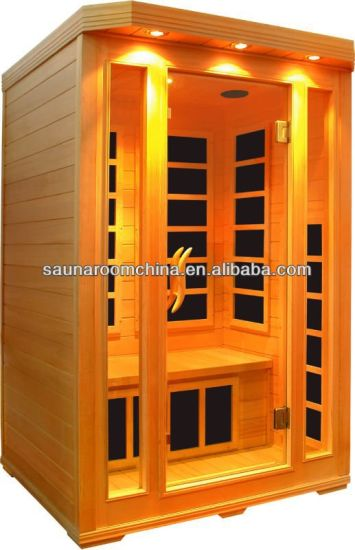 Easy Install Type Sauna Room 2 Person Use Infrared Home