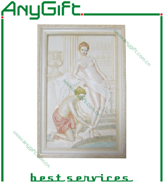 AG Polyresin Wall Decoration with Customized Logo 03