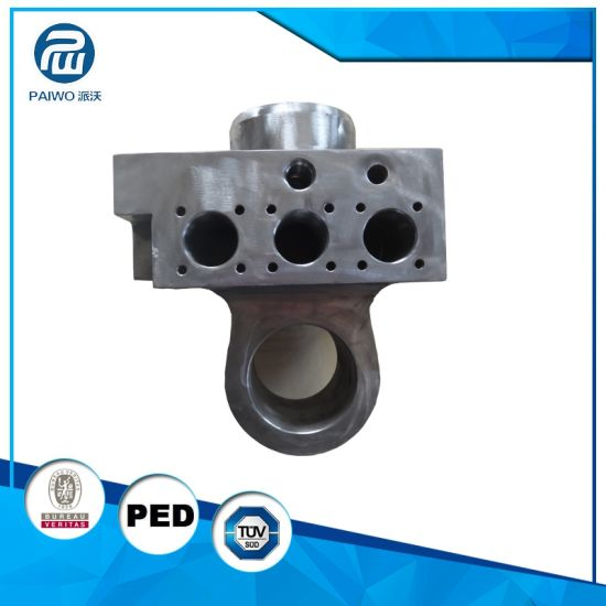Forged Precision Machined 4130 Hydraulic Parts for Hydraulic Cylinder pictures & photos