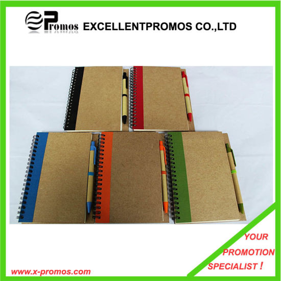 Recycled Notebook with Pen (EP-B7156) pictures & photos