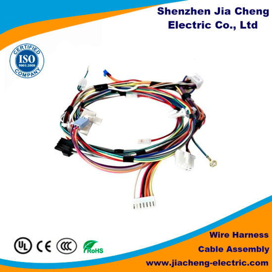 industrial electrical wiring harness connector for spare parts