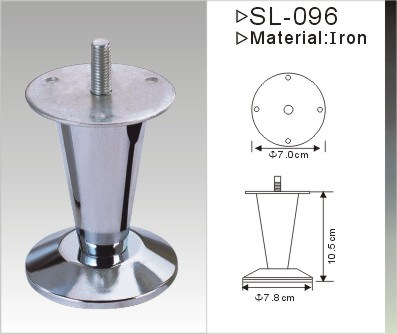 Chrome Plated Furniture Leg, Sofa Legs (SL-096) pictures & photos