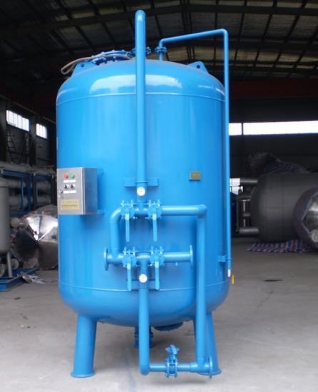 80m3/H-200m3/H Big Flow Industrial Back Washing Sand Filter pictures & photos