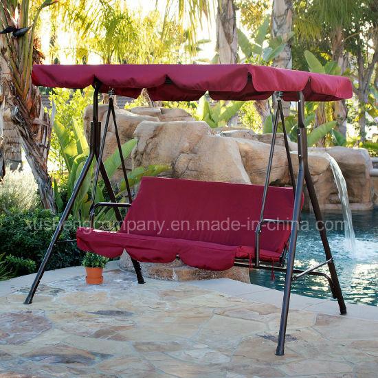 Outdoor Furniture of Hot Sale 3 Seat Garden Swing Chair