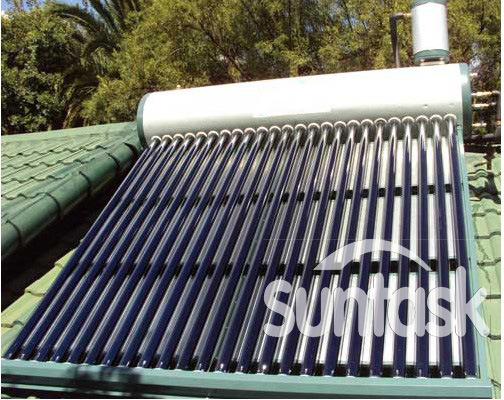 Beautiful Non Pressure Solar Water Hater for Your House (ST24-180)