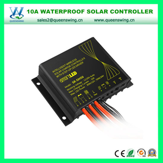 10A Waterproof Solar Street Light Controller for Lithium Battery (QW-SR-DH50-LI) pictures & photos