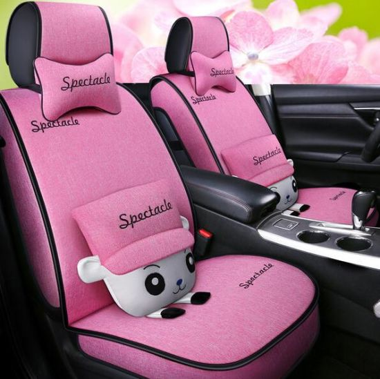 Cheapest Car Seat Cover Universal Size Polyester Funny Seat Cover/Car Decoration/Seat Cover pictures & photos