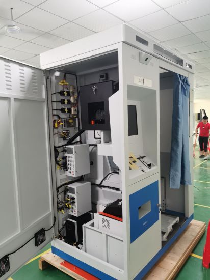 OEM Sheet Metal Fabrication Equipment Enclosure for Power System Battery