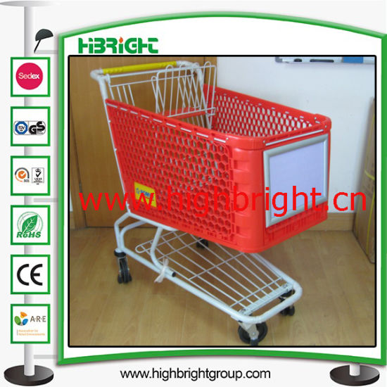Aluminium Alloy Front Advertising Board for Shopping Cart pictures & photos
