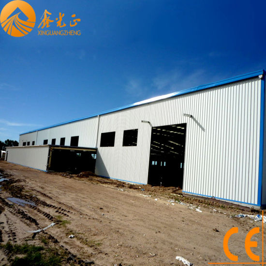 Prefabricated Steel Structure Warehouse (SSW-61)
