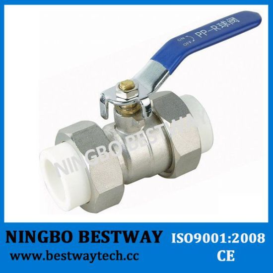 Dn20-Dn63mm Brass PPR Ball Valve pictures & photos