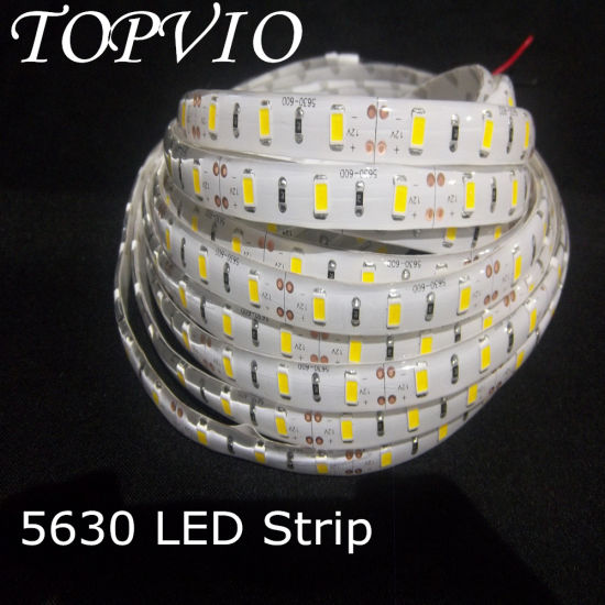 SMD 5630 Flexible 12V Light Waterproof LED Strip pictures & photos