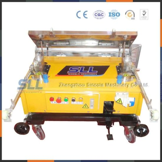 Sincola Automatic Wall Plaster Rendering Machine Robot pictures & photos