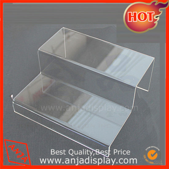 China AcrylicStainless Stee Height Adjustable Table Shoe Display Amazing Adjustable Acrylic Display Stands