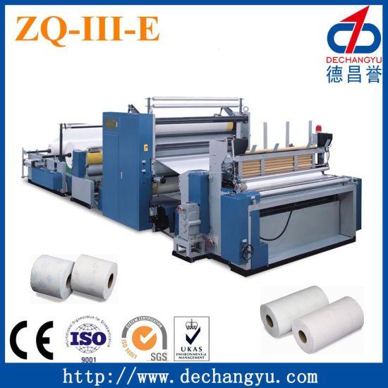 Zq Iii E Paper Rewinding Small Toilet Making Machine