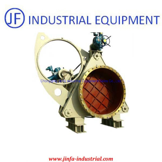 Gas Pipe Carbon Steel Electric/Hydraulic Sector Blind Valve