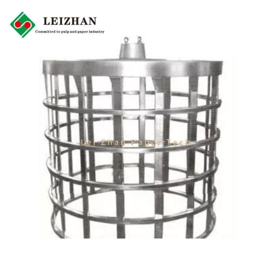 Stainless Steel Pressure Screen Rotors for Waste Paper Pulping Line