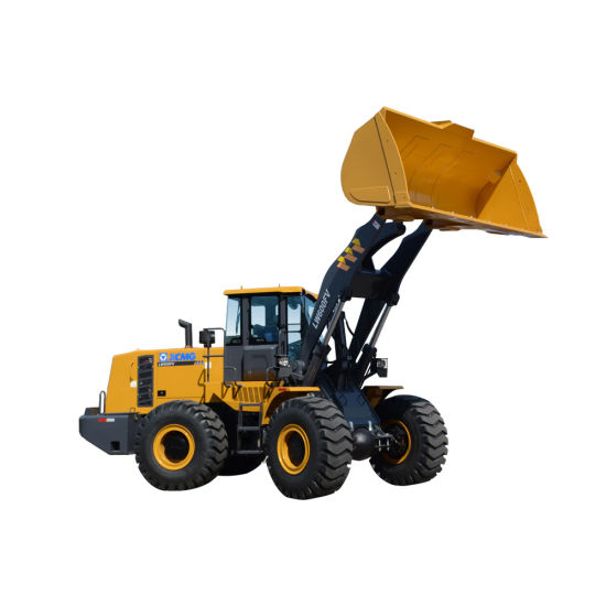 Hydraulic 6t Wheel Loader From China Factory