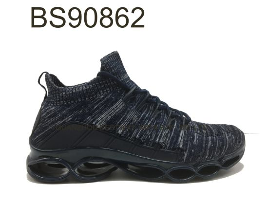 New Design High Quality Men Outdoor Hiking Knitting Athletic Shoe