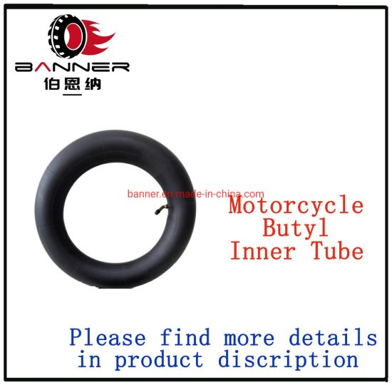 Excellent Quality Butyl Motorcycles Nature Rubber Tiers/Tyres Inner Tube 3.00-18 3.00-17 2.75-18 2.75-17