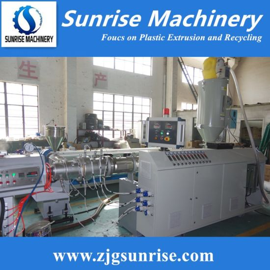 PP PE Pipe Production Line / Water Supply / Electric Conduit / Pipe / Hose /Tube Extrusion Line