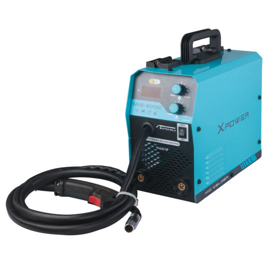 Portable 110V/220V MIG IGBT Welding Machine