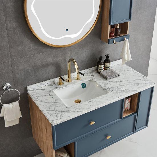 Philippines Unique Blue Bathroom Vanity